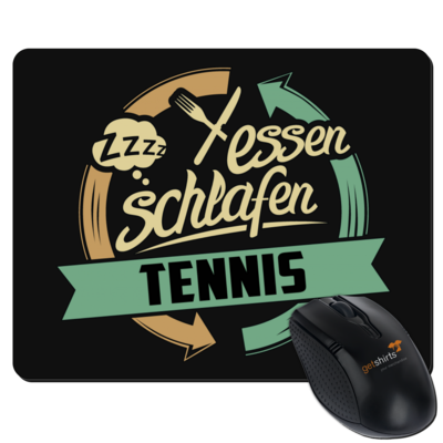 Motiv: Mousepad Textil - Sport Tennis