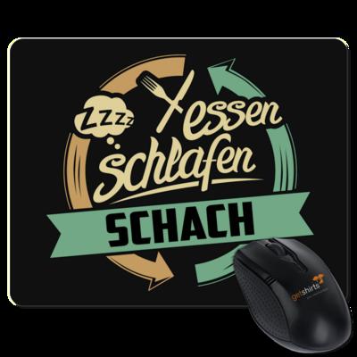 Motiv: Mousepad Textil - Sport Schach