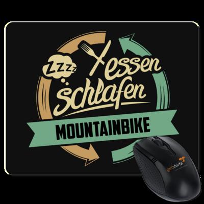 Motiv: Mousepad Textil - Sport Mountainbike Downhill