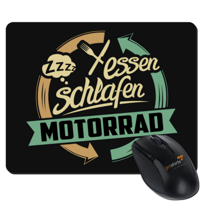 Motiv: Mousepad Textil - Sport Motorrad