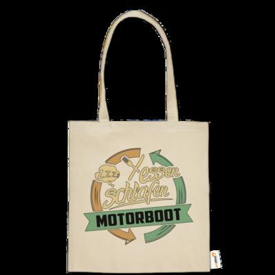 Motiv: Baumwolltasche - Sport Motorboot