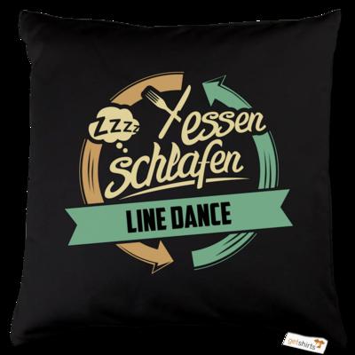 Motiv: Kissen Baumwolle - Sport Line Dance