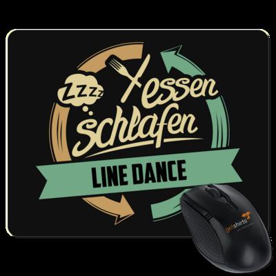 Motiv: Mousepad Textil - Sport Line Dance
