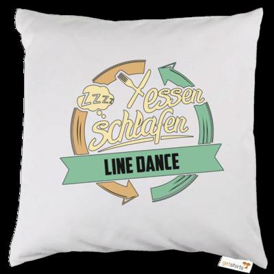 Motiv: Kissen - Sport Line Dance
