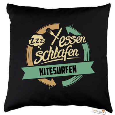 Motiv: Kissen Baumwolle - Sport Kitesurfen
