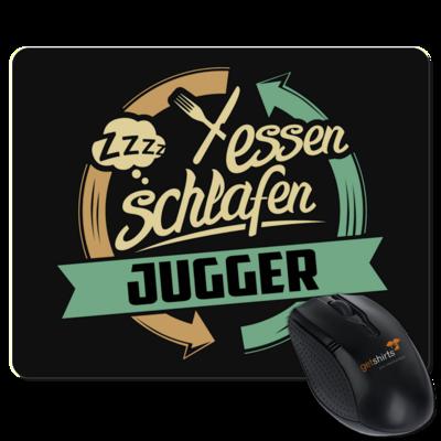 Motiv: Mousepad Textil - Sport Jugger