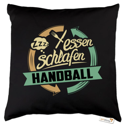 Motiv: Kissen Baumwolle - Sport Handball