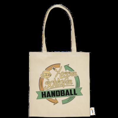 Motiv: Baumwolltasche - Sport Handball