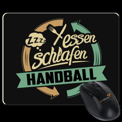 Motiv: Mousepad Textil - Sport Handball
