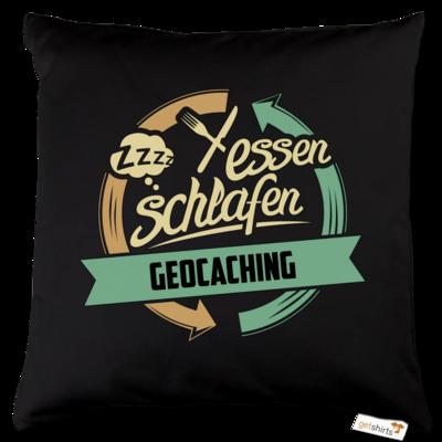 Motiv: Kissen Baumwolle - Sport Geocaching