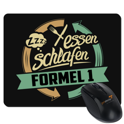 Motiv: Mousepad Textil - Sport Formel 1
