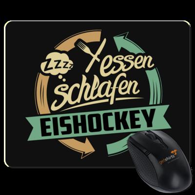 Motiv: Mousepad Textil - Sport Eishockey