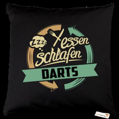 Motiv: Kissen Baumwolle - Sport Darts