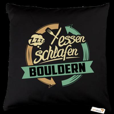 Motiv: Kissen Baumwolle - Sport Bouldern