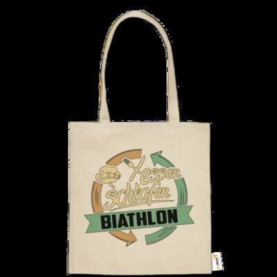 Motiv: Baumwolltasche - Sport Biathlon