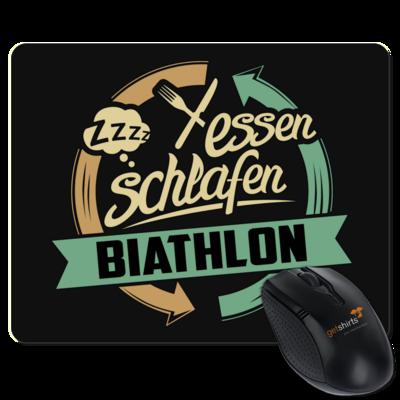 Motiv: Mousepad Textil - Sport Biathlon