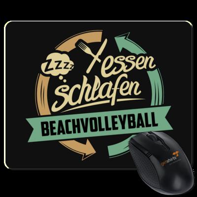 Motiv: Mousepad Textil - Sport Beachvolleyball