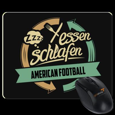 Motiv: Mousepad Textil - Sport American Football