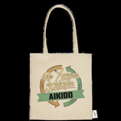 Motiv: Baumwolltasche - Sport Aikido