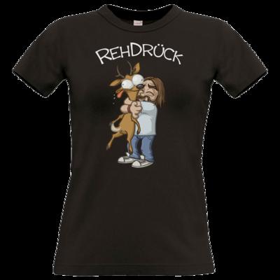 Motiv: T-Shirt Damen Premium FAIR WEAR - RehDrueck
