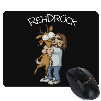 Motiv: Mousepad Textil - RehDrueck