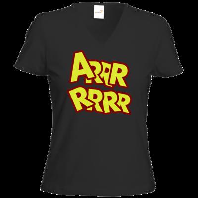 Motiv: T-Shirt Damen V-Neck Classic - ARRRRRRR