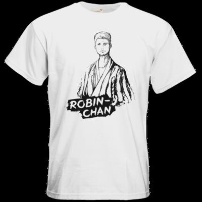 Motiv: T-Shirt Premium FAIR WEAR - Robin-Chan