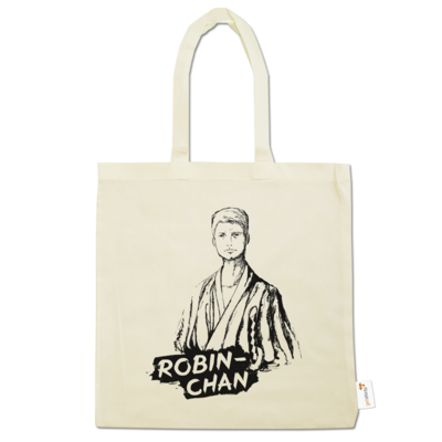 Motiv: Baumwolltasche - Robin-Chan