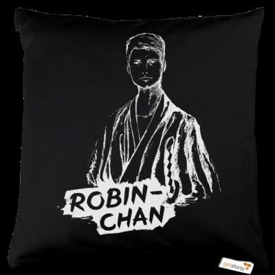 Motiv: Kissen Baumwolle - Robin-Chan