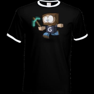 Motiv: T-Shirt Ringer - Gronkhcraft