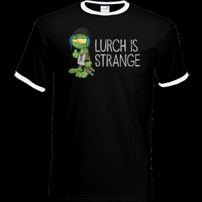 Motiv: T-Shirt Ringer - Lurch is Strange Chloe