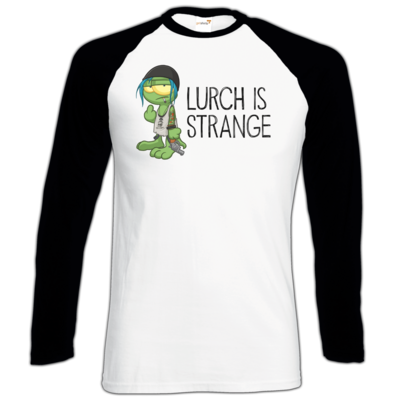 Motiv: Longsleeve Baseball T - Lurch is Strange Chloe