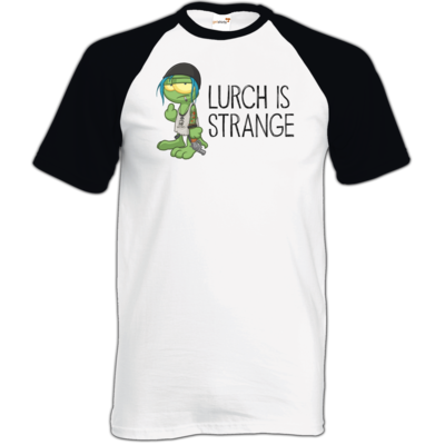 Motiv: TShirt Baseball - Lurch is Strange Chloe