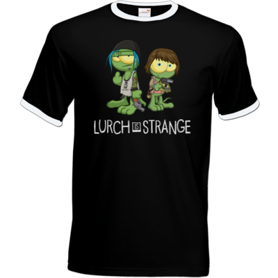 Motiv: T-Shirt Ringer - Lurch is Strange Max & Chloe