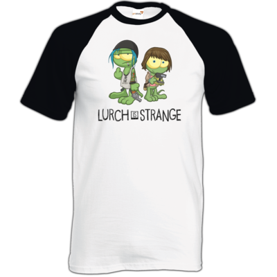 Motiv: TShirt Baseball - Lurch is Strange Max & Chloe