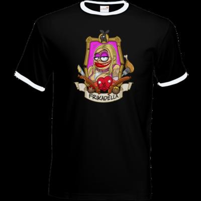 Motiv: T-Shirt Ringer - Frikadella