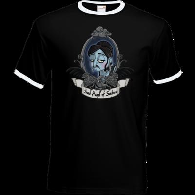 Motiv: T-Shirt Ringer - Traenenmond