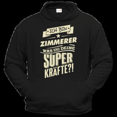 Motiv: Hoodie Classic - Superkraefte Zimmerer