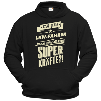 Motiv: Hoodie Classic - Superkraefte LKW-Fahrer