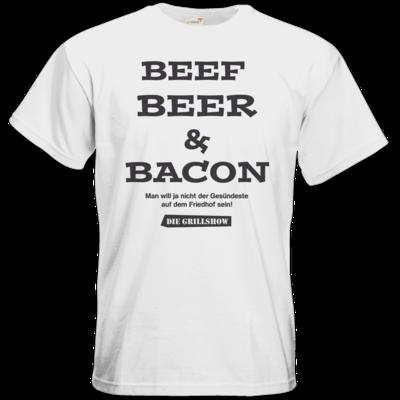 Motiv: T-Shirt Premium FAIR WEAR - Grillshow nicht der Gesuendeste