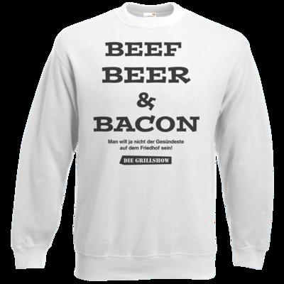 Motiv: Sweatshirt Classic - Grillshow nicht der Gesuendeste