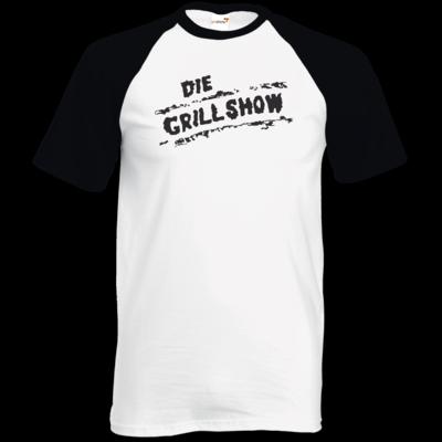 Motiv: TShirt Baseball - Grillshow Logo