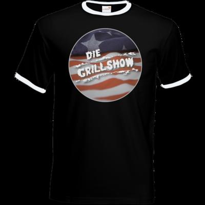 Motiv: T-Shirt Ringer - Grillshow