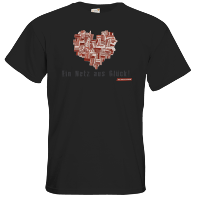 Motiv: T-Shirt Premium FAIR WEAR - Grillshow Netz aus Glueck