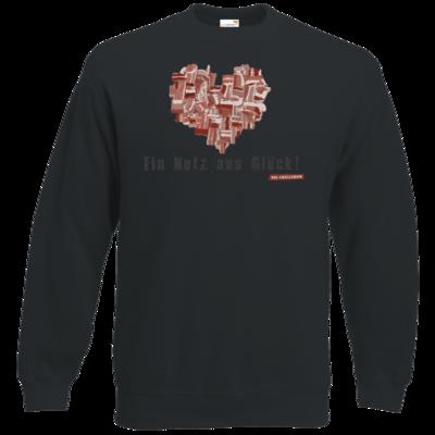 Motiv: Sweatshirt Classic - Grillshow Netz aus Glueck
