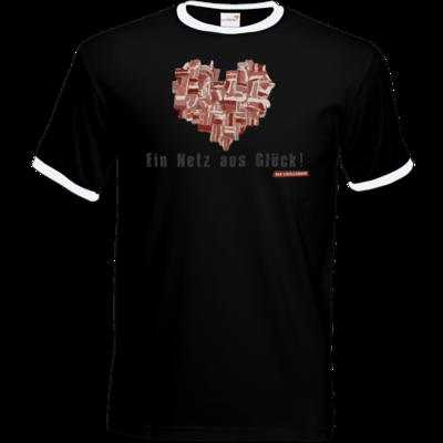 Motiv: T-Shirt Ringer - Grillshow Netz aus Glueck