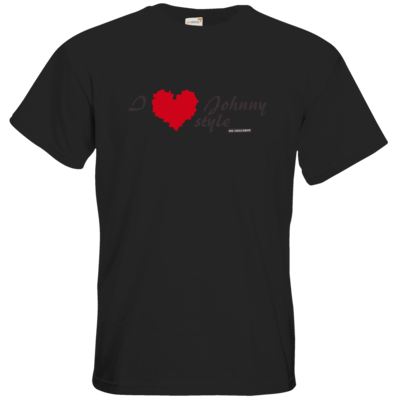 Motiv: T-Shirt Premium FAIR WEAR - Grillshow I love Johnny style