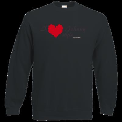 Motiv: Sweatshirt Classic - Grillshow I love Johnny style