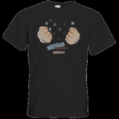 Motiv: T-Shirt Premium FAIR WEAR - Grillshow Doppelfaust