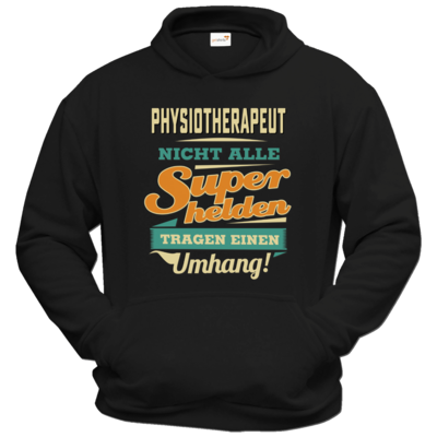 Motiv: Hoodie Classic - Superhelden Umhang - Physiotherapeut